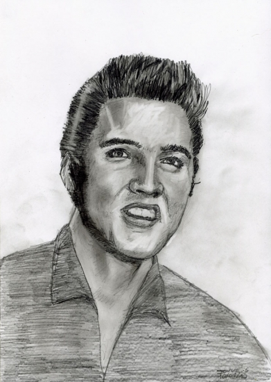 Elvis Presley por sebastien.jouve